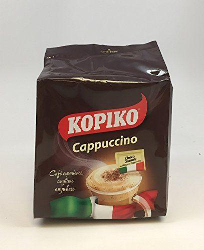 Kopiko Kopiccino with Choco Granule - Instant Cappuccino ...