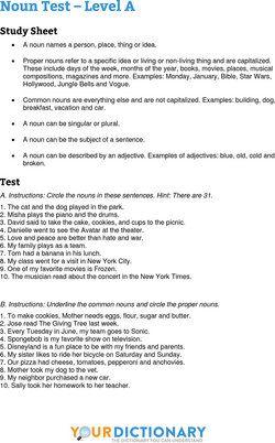 Noun Quiz Grammar Quiz English Quiz Education