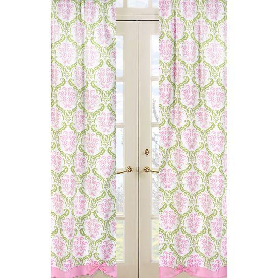 damask curtains