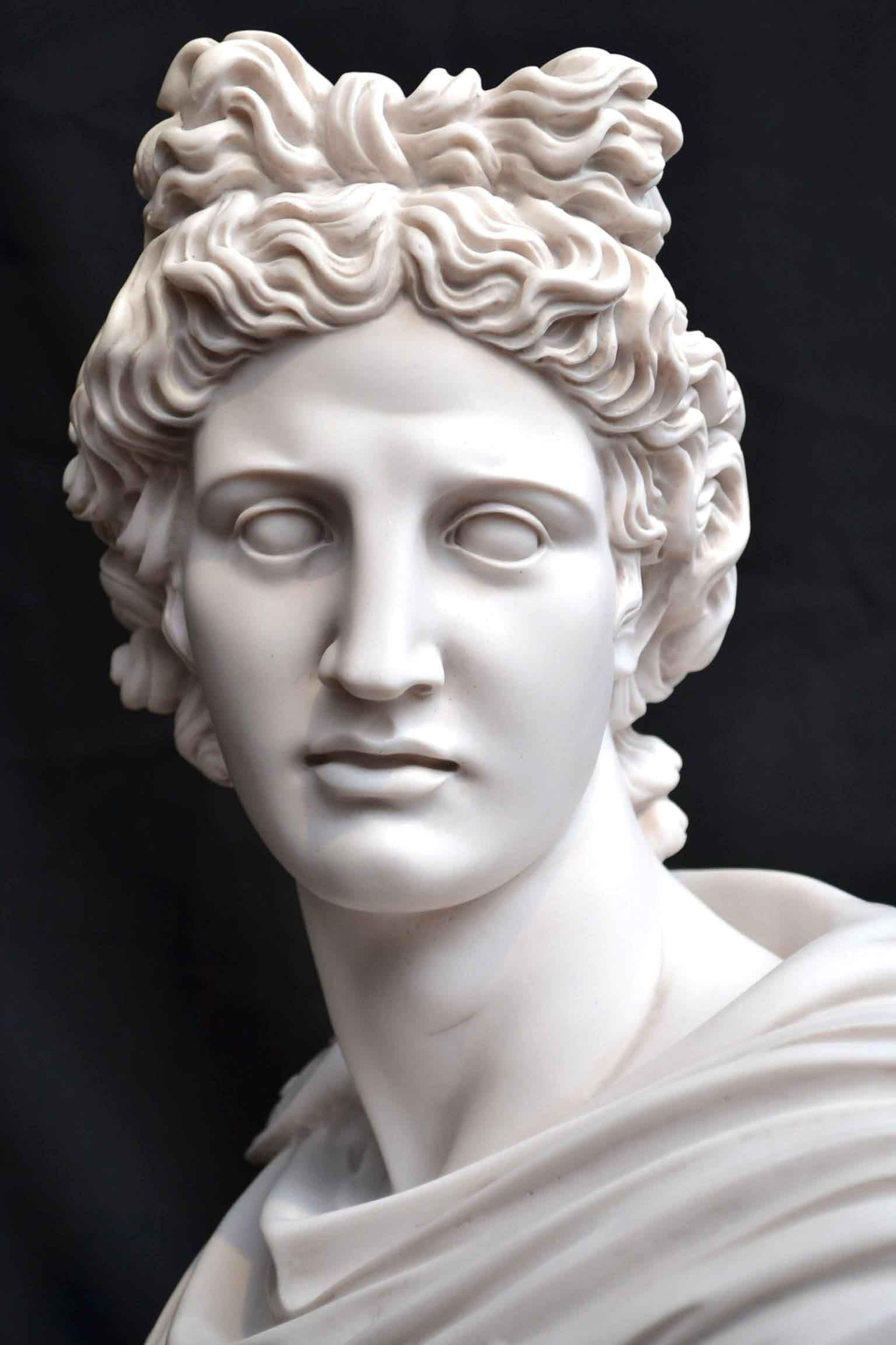 04049-Stunning-Marble-Bust-of-Greek-God-Apollo-11.jpg 1 ...