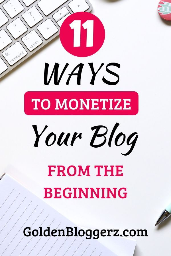 11 Ways to Monetize Your Website