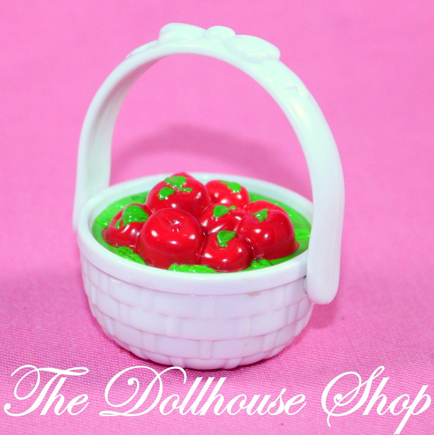 Fisher Price Loving Family Dollhouse White Basket of