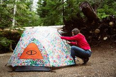 The Two Man Tent by Poler Stuff The Poler 2+ man c&ing tent is the same spacious design as our one man tent only wide enough to accomodate 2 big people ... & The Two Man Tent by Poler Stuff: The Poler 2+ man camping tent is ...