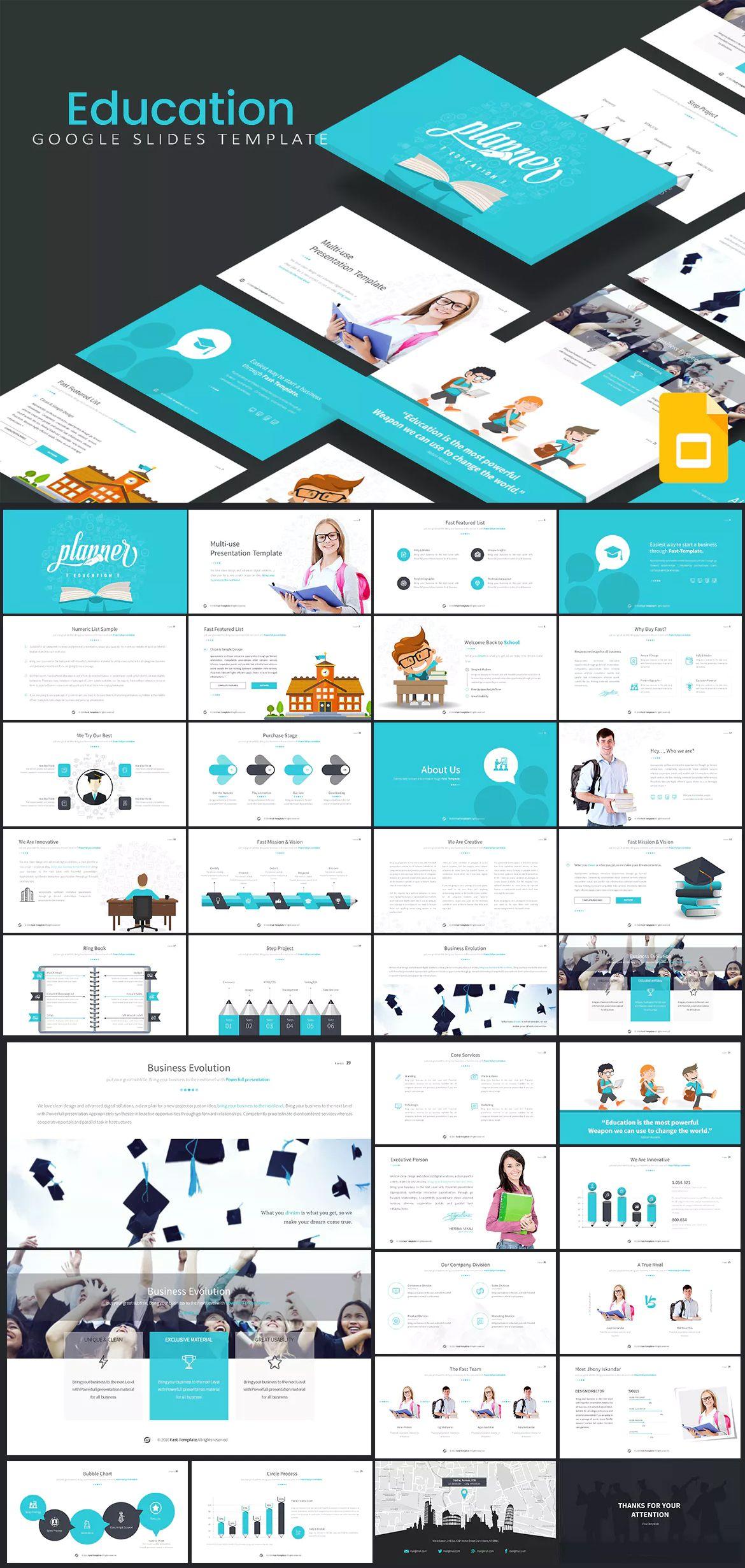 education google slides template google slide presentation