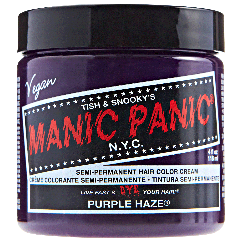 Purple haze semi permanent cream hair color in hair color