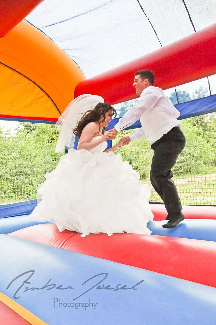 Wedding Bounce House Bride And Groom 2 By A Like Me