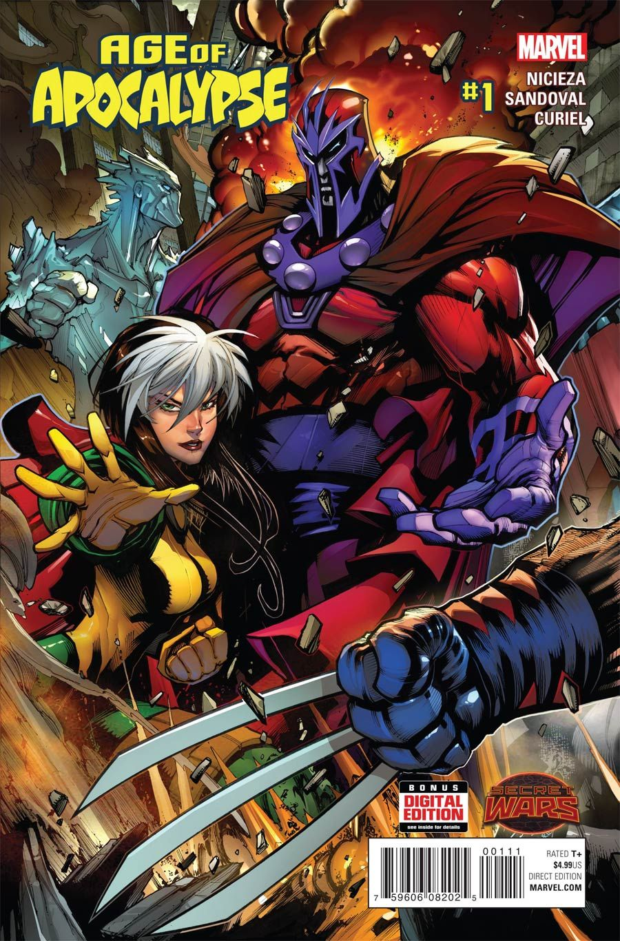 Age Of Apocalypse Vol 2 #1 Cover A Regular Gerardo Sandoval Cover