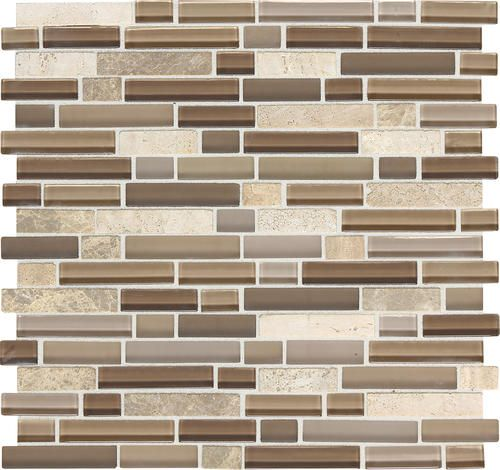 Backsplash Tile Daltile Phase Mosaics Stone And Glass Wall Tile 5 8