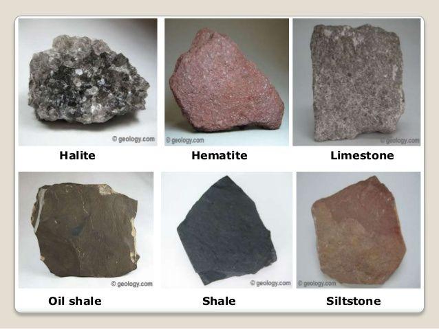 Image result for kinds of sedimentary rocks geology for Soil definition geology