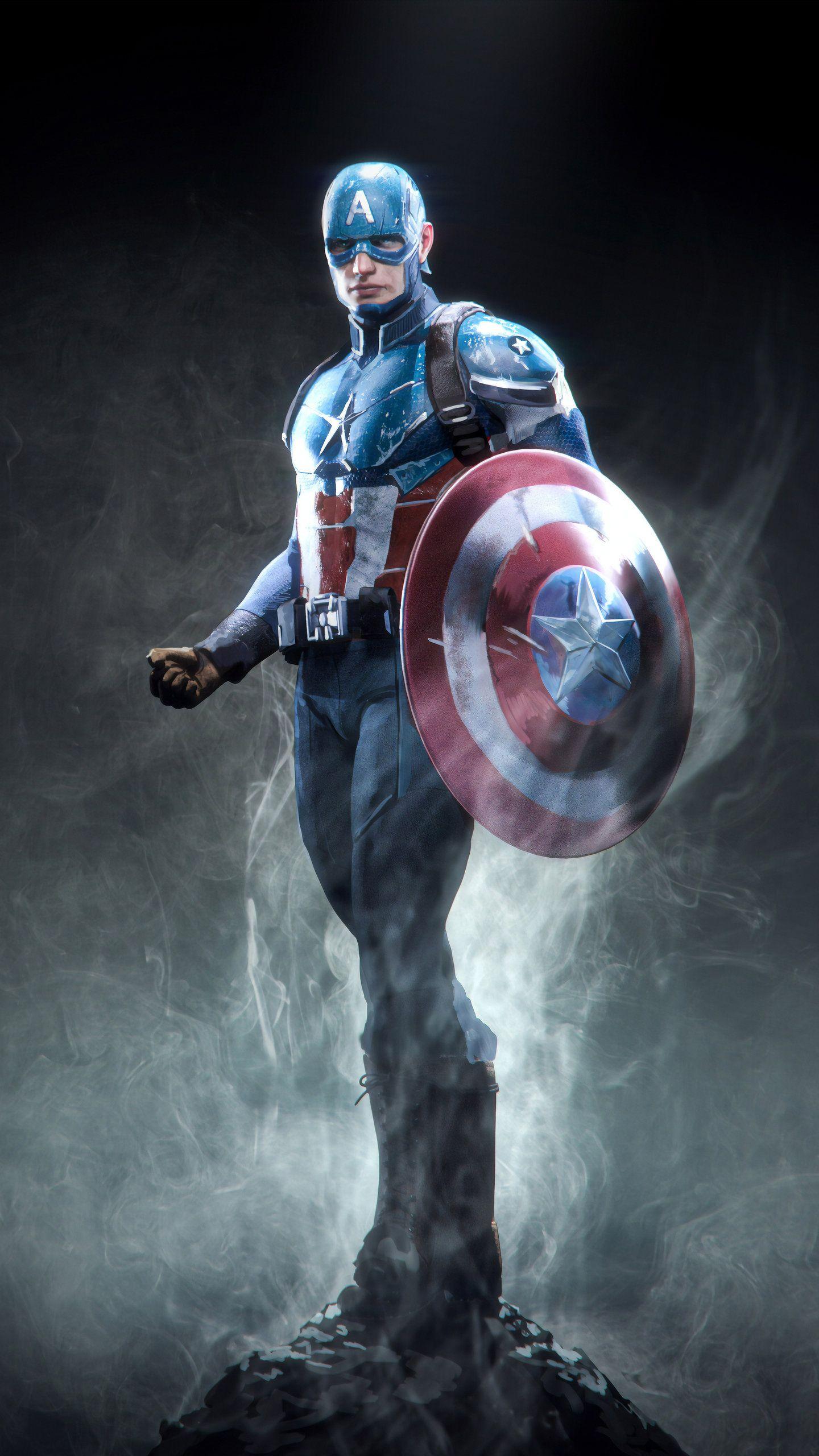 Captain America Marvel Superhero Hd Superheroes Wallpapers Photos