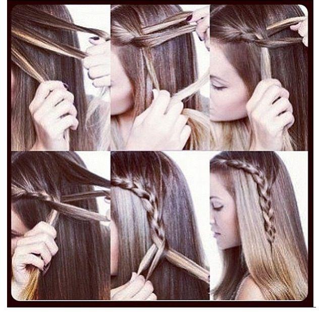 Easy braid .