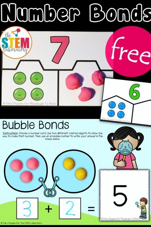 Hands-On Number Bond Activities | First Grade 2015 | Pinterest ...