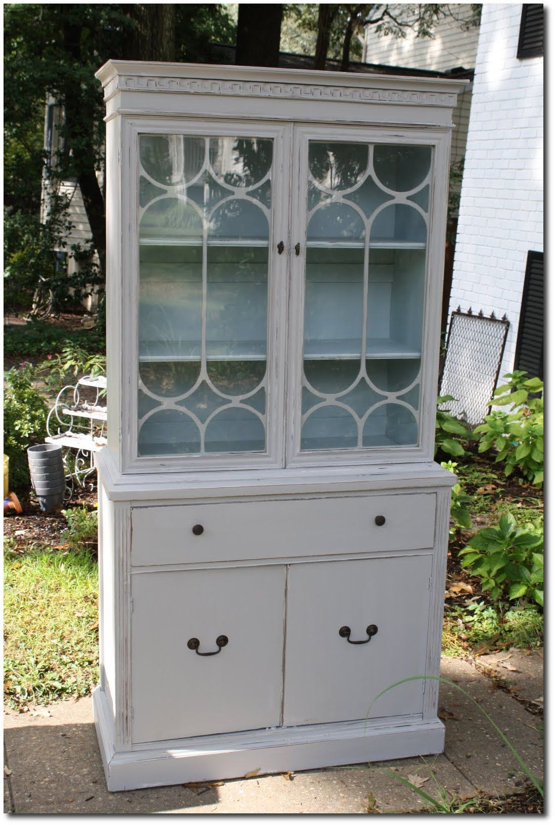 Blue Painted Furniture Spectacular Gray Cabinet With Blue