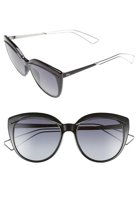 9aa52c2309 Dior  Liner  56mm Cat Eye Sunglasses