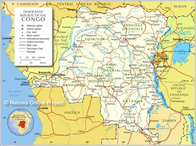 A Brief History Of Drc Congo Congo Free State Republic Of The