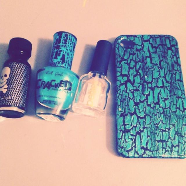 Homemade phone case: Find a clear case, paint it with a solid ...