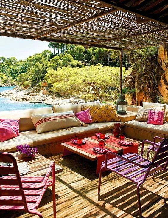 Denize Nazır Ev Denince Aklına Sadece Yazlık Gelenleri Uyandıran 35 Deniz Manzaralı Ev #pergolagarten