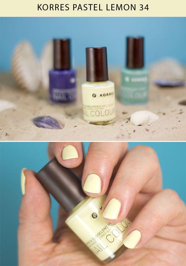 KORRES Pastel Lemon   Nails / Ongles   Pinterest   Pastels, Ongles ...