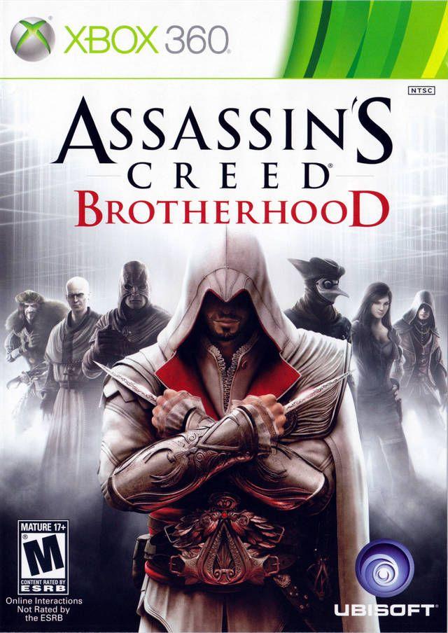 Assassins Creed Brotherhood Xbox 360 Game Assassin S Creed