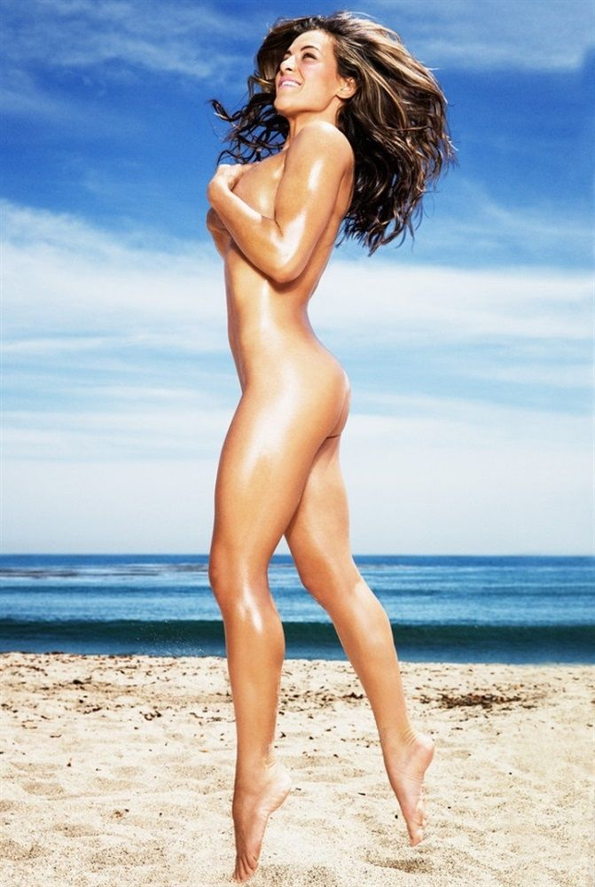 Celebrity Nude And Famous Miesha Tate Nude Jumping On -5131