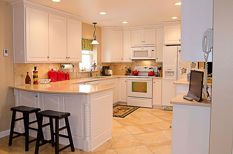 White Kitchen Setup Vogl S Woodworking From Kitchen Cabinet Setup