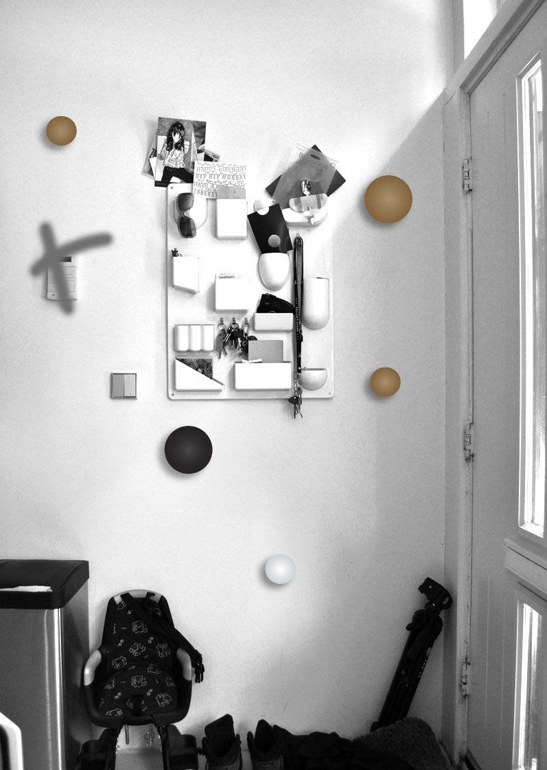 Hallway hooks and storage  Muuto kapstok hooks  Products  Pinterest  Workspaces and Interiors