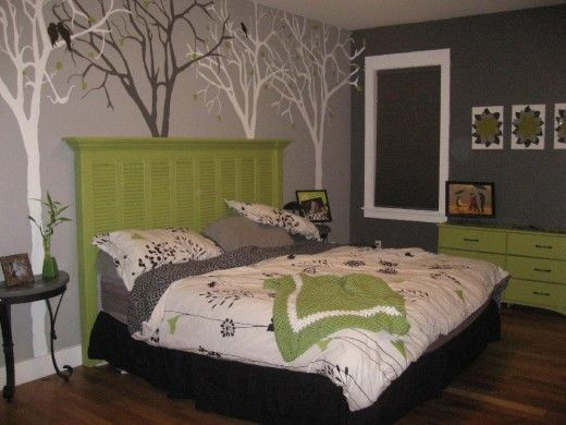 Gray/Grey Living Room U0026 Bedroom Walls Decor | Plus, How To Use Furnitures