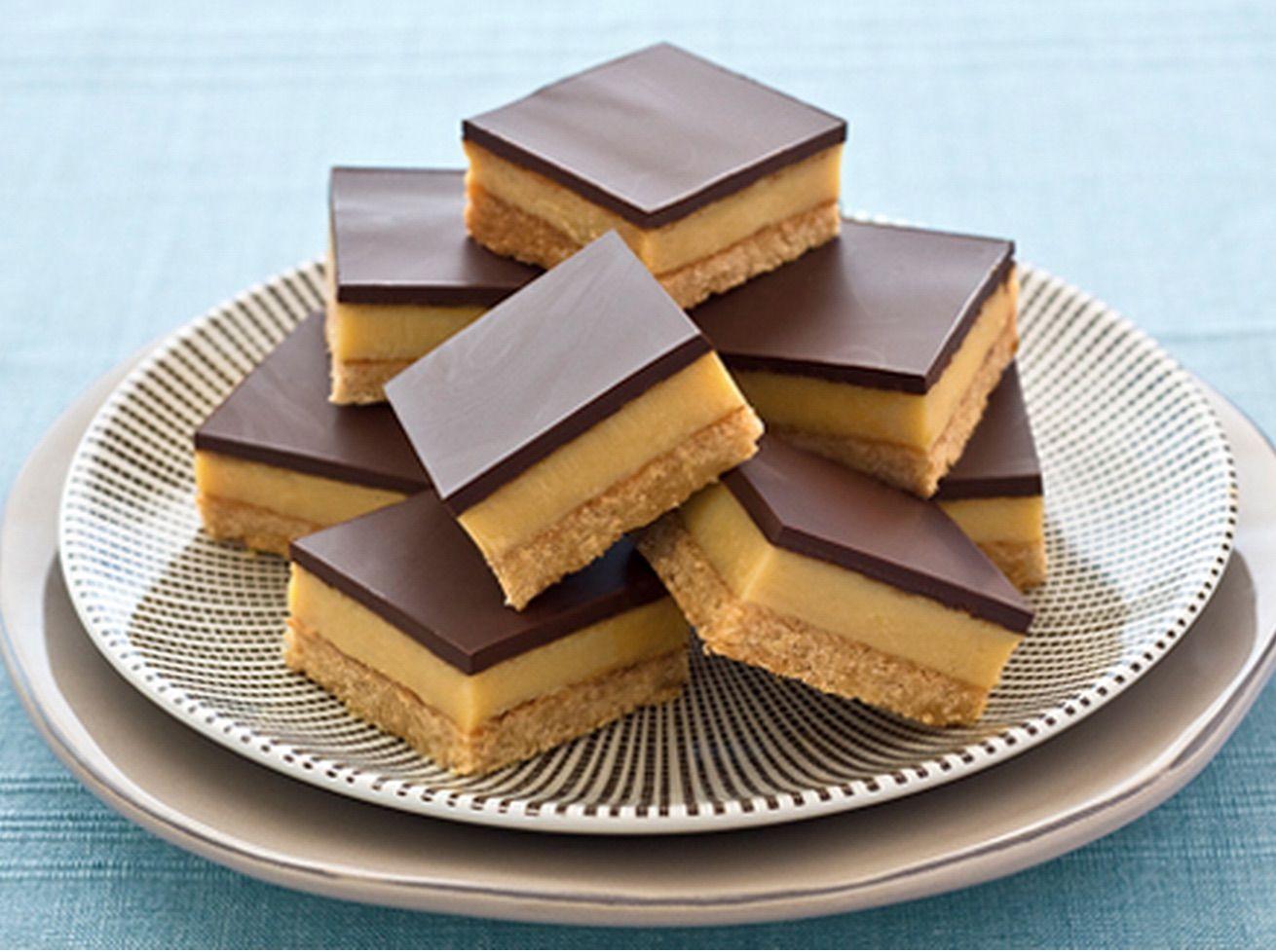 Chocolate Caramel Slice Recipe Video The Whoot Sweetened Condensed Milk Recipes Chocolate Caramel Slice Condensed Milk Recipes