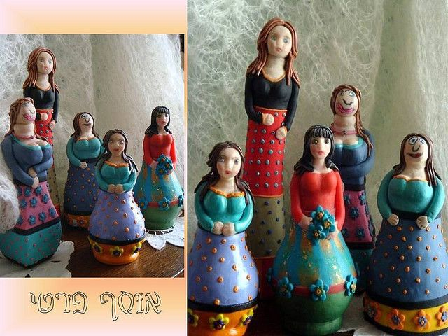 Polymer clay covered  Bottles& Lightbulbs