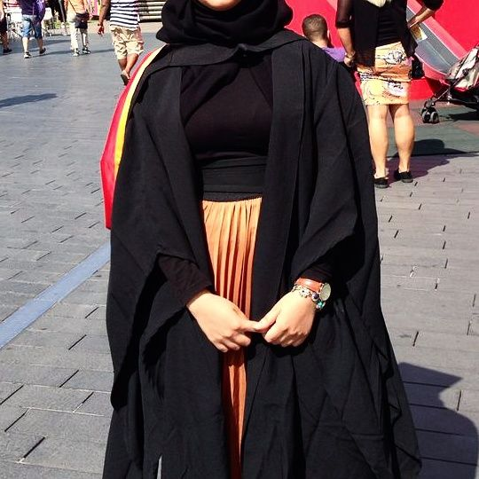 Abaya graduation dress   graduation   Pinterest ...