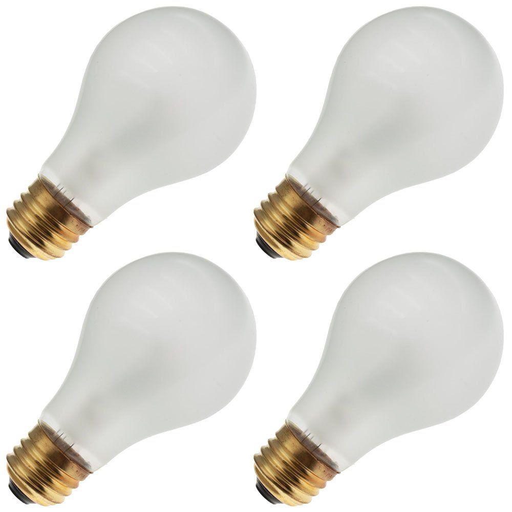 Eiko 75a19 Rs 130v 75 Watt A19 Medium Screw E26 Base Rough Service Light Bulb 4 Bulbs Discover More By Visiting The Image Web Link Th Light Bulb Bulb Light