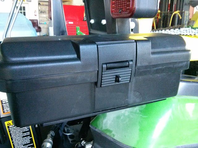 Kubota Tractor Tool Box : Toolbox and or carry all yanmar tractors tools