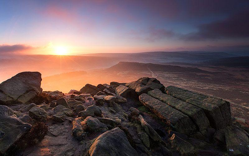 Higger Tor, Derbyshire, Peak District National Park