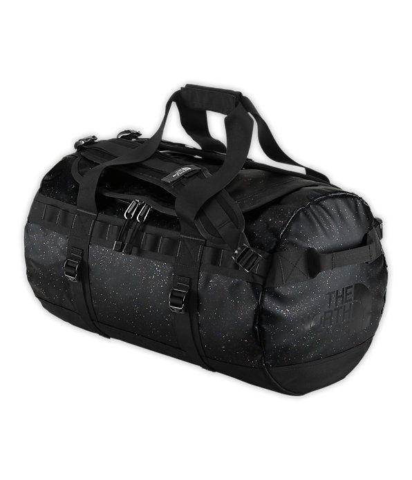 327ba4c507cf Base Camp Duffle - Black Sparkle