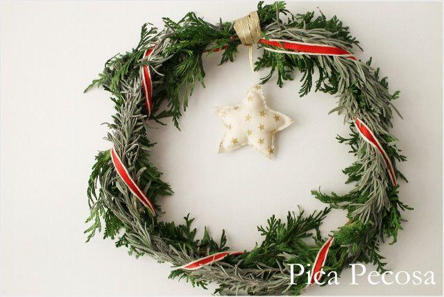 Corona de Navidad DIY / DIY Christmas wreath