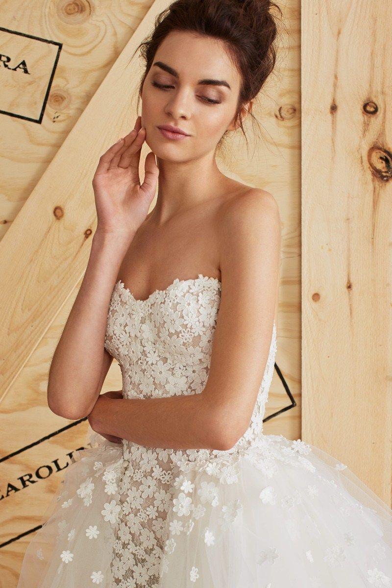 Carolina Herrera Frühling 2017 Brautkleider | Brautfrisuren – Mode ...