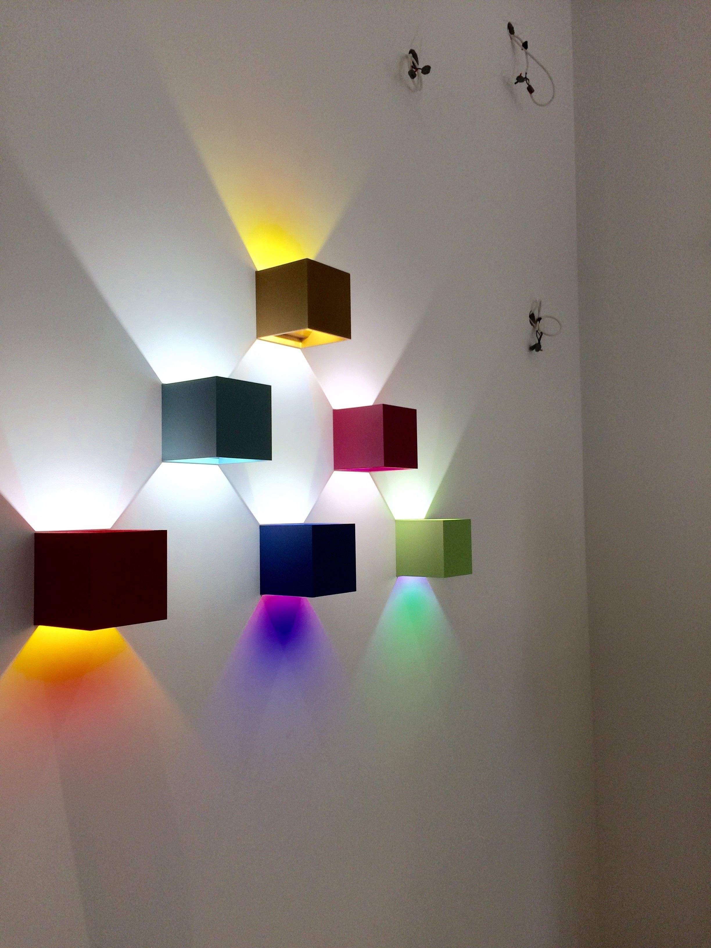 Prolicht dice wall light with colour filter www ladgroup com au