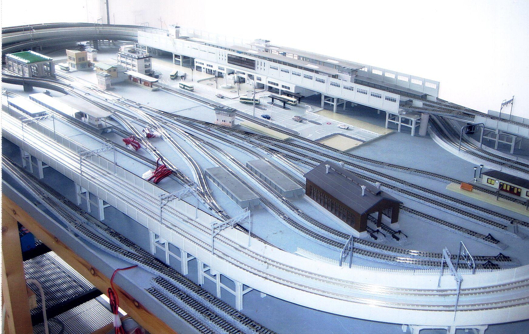 N Scale Bedroom Track Plans | Kato N Unitrack Track Plan ...