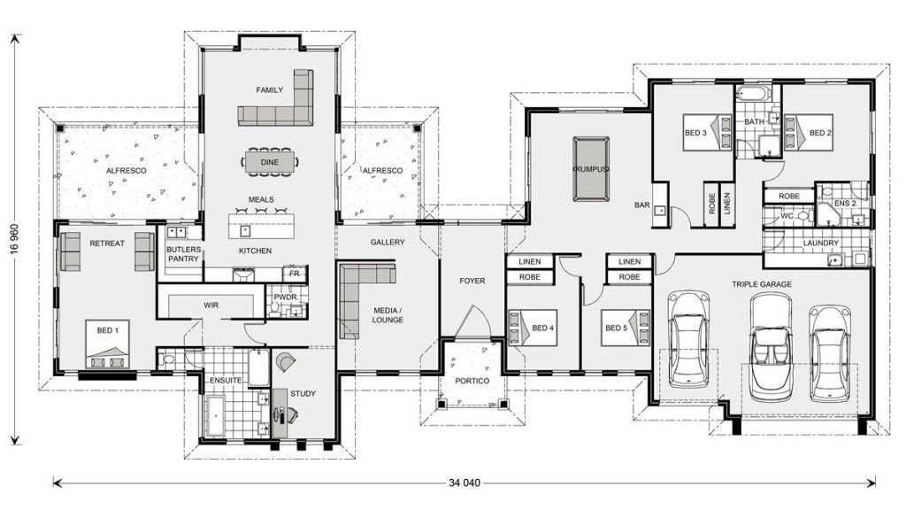 Rivervale 417 Custom Home Design G J Gardner Homes Floor Plans How To Plan House Design