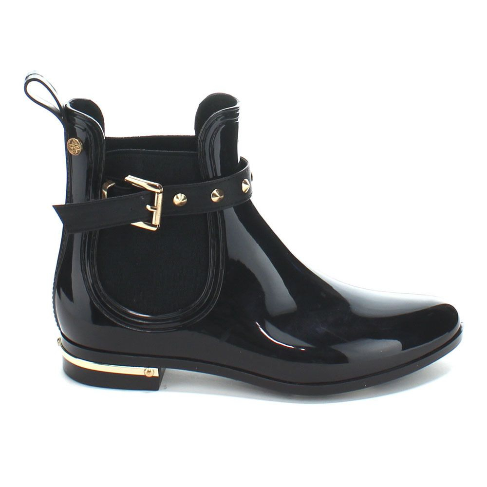 a9ff7992f4a Forever Women's 'Dottie-5' Pull-on Ankle Rain Boots - Overstock ...