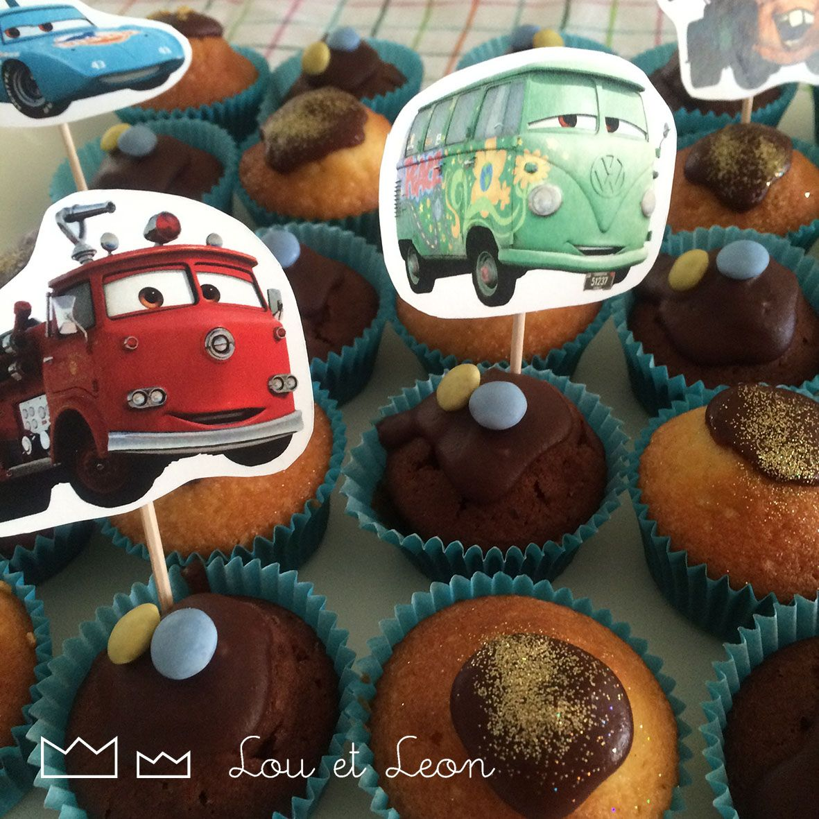Free download cars cupcakes sticks! Cars, lighting McQueen, birthday party,  cupcakes! 0221cad7563