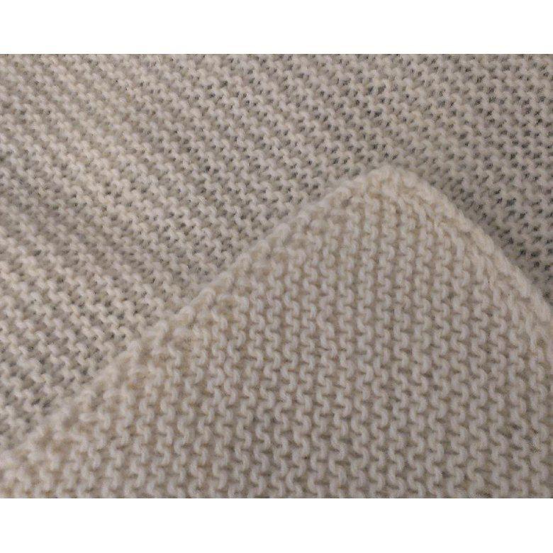 Garter Stitch Comfort Blanket Knitting pattern by Marie ...