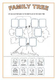 english worksheet family tree activity the family 3 pinterest family trees worksheets. Black Bedroom Furniture Sets. Home Design Ideas