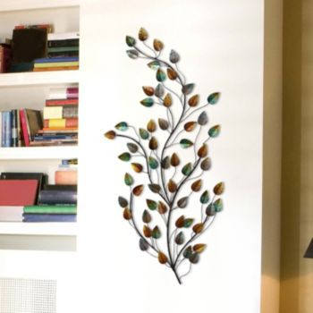 b40415ba57 Stratton Home Decor Metal Blowing Leaves Wall Decor in 2019 | Home ...