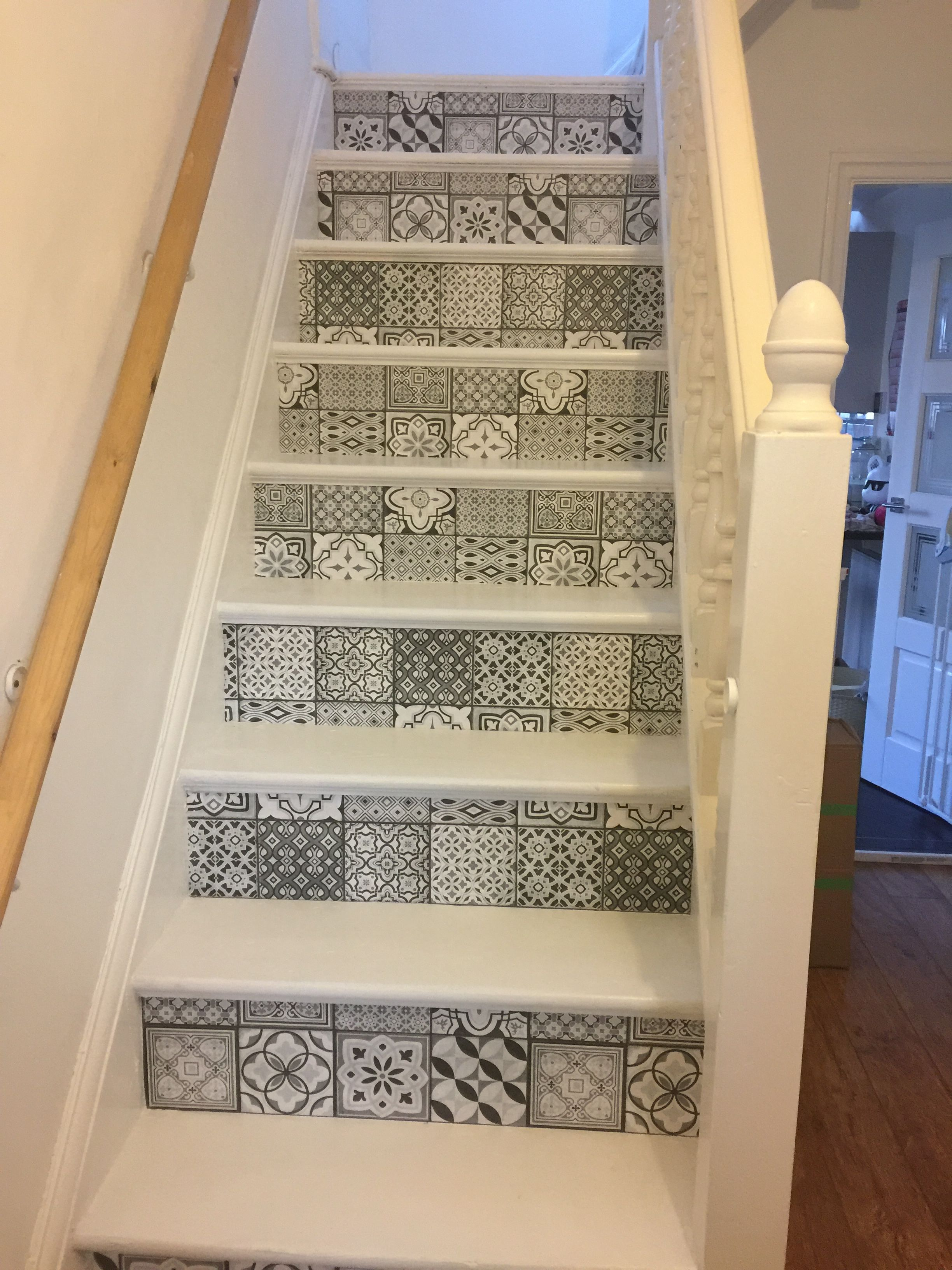 Stairs makeover batook designs pinterest stair makeover and