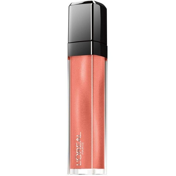 L'Oreal Paris L'Oreal Paris Infallible Mega Gloss Forgive My Sin (30 BRL) ❤ liked on Polyvore featuring beauty products, makeup, lip makeup, lip gloss, l'oréal paris, moisturizing lip gloss, lip shine, shiny lip gloss and l oreal paris lip gloss