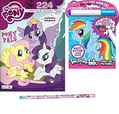 my little pony bundle 224 coloring book plus imagine ink book and one my little - Imagine Ink Coloring Book