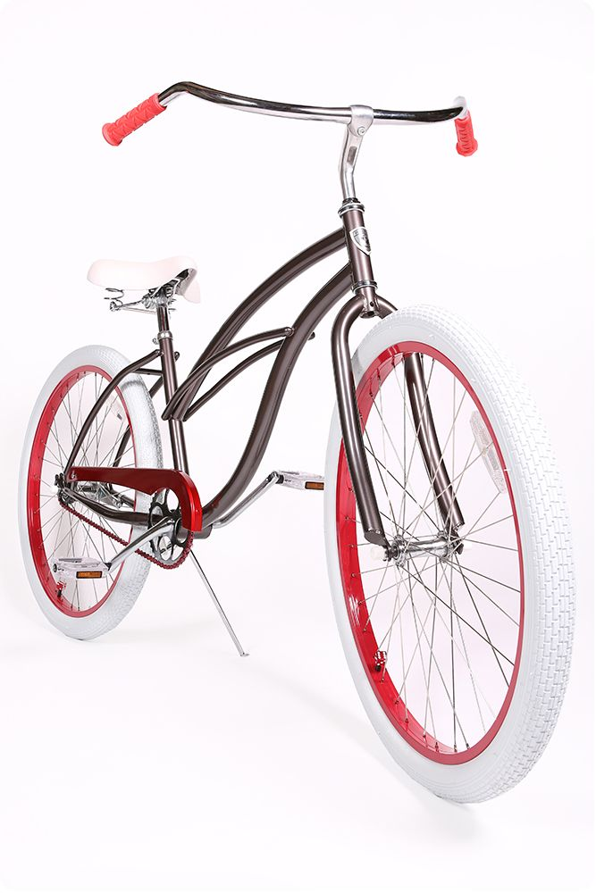 Winter Anthracite Frame Red Grips Red Classic Wheels Red