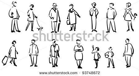 People sketch by Essl, via Shutterstock