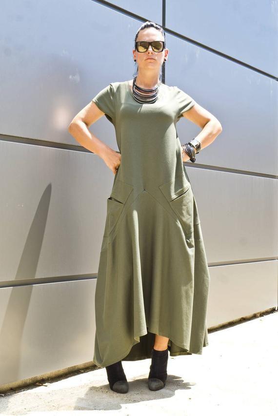 Plus Size Maxi Dress/ Black Dress/ Women's Clothing/ | Etsy